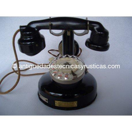 TELEFONO ANTIGUO FRANCES DE SOBREMESA AÑOS 20