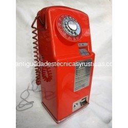 CABINA TELEFONICA INGLESA MONEDAS AÑOS 60/70