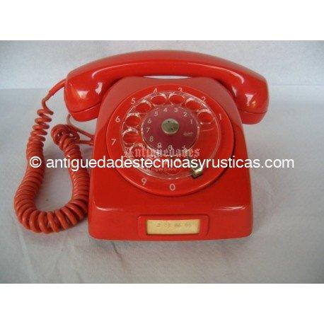TELEFONO ANTIGUO SUECO DE SOBREMESA AÑOS 70