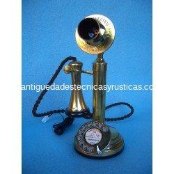 TELEFONO ANTIGUO ESTILO CANDELABRO