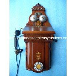 TELEFONO ANTIGUO DE PARED JYDSK 1.900