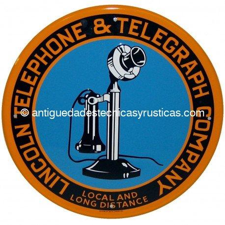 CARTEL TELEFONO PUBLICO USA