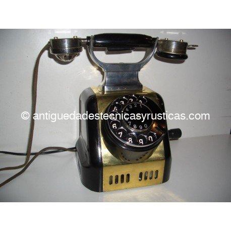 TELÉFONO ANTIGUO SIEMENS & HALSKE AÑOS 20