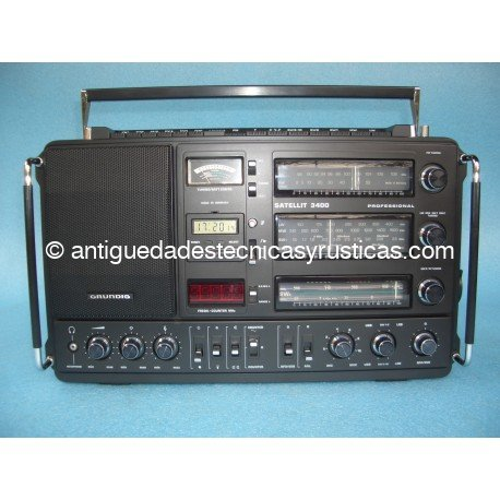 RADIO GRUNDIG SATELLIT 3400 PROFESSIONAL